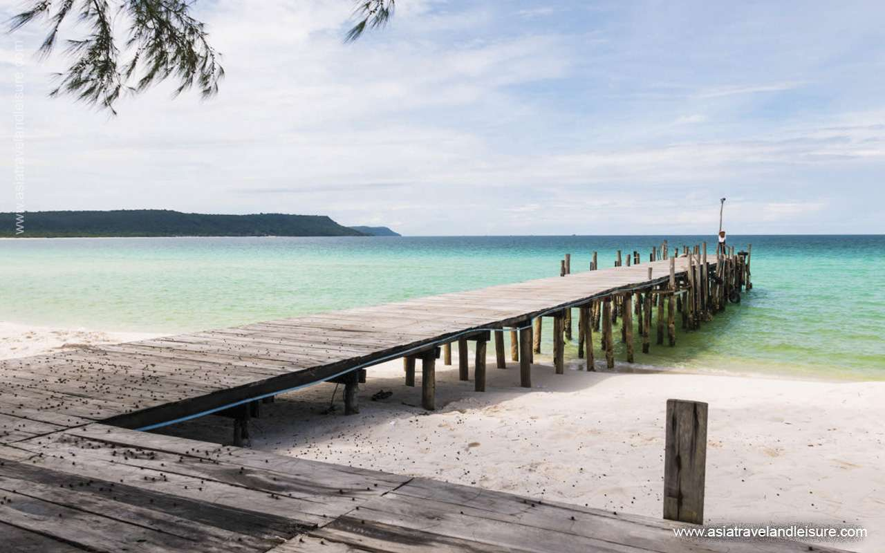 Koh Rong island in Siem Reap