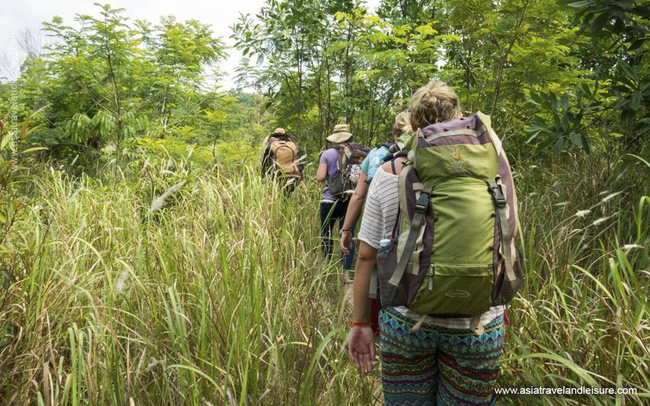 Trekking in Chi Phat Cardamom mountain