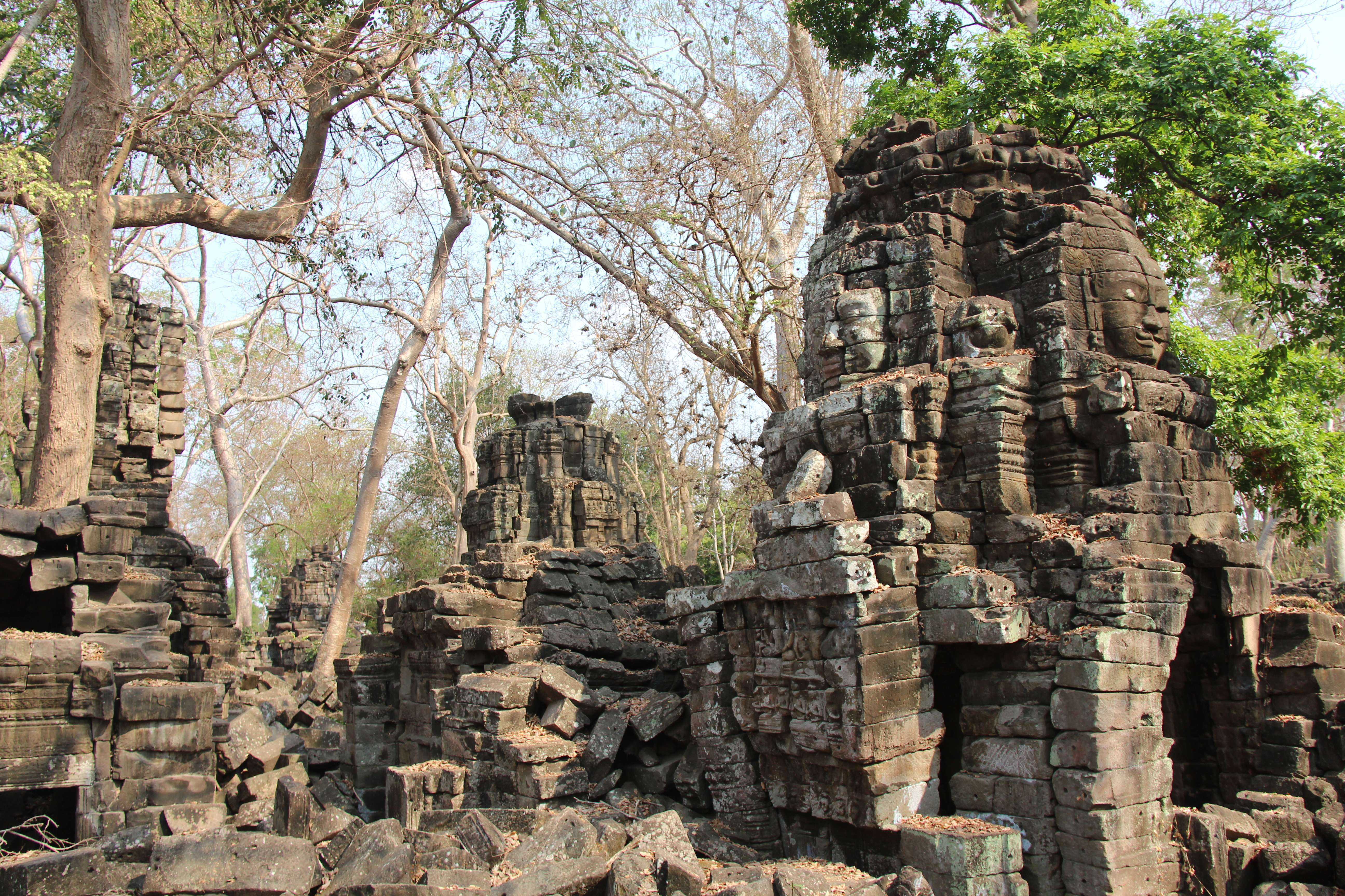 Banteay Chhmar Temple in Cambodia