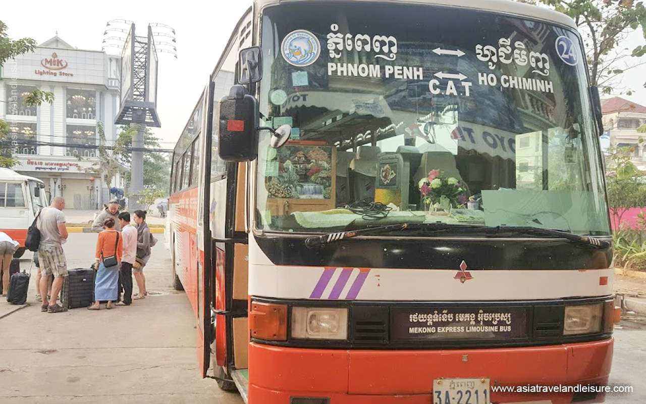 Bus from HCMC to Cambodia