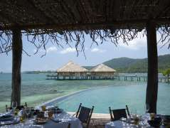 The restaurant at Song Saa Private Island