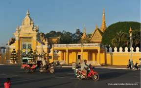 The Chanchhaya Pavilion of Royal Palace, Phnom Penh, Cambodia