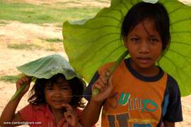 Children in Phnom Penh Cambodia