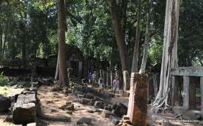 Ancient temple of Koh Ker in Cambodia