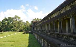 Angkor Wat in the sunshine Cambodia