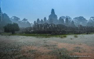 Angkor Wat in the rainy season