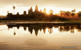 Angkor Wat in the sunrise