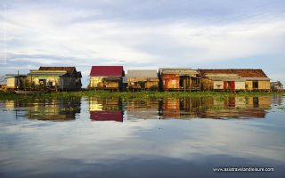 Floating Village on Tonle Sap Lake