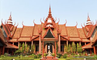 The National Museum of Cambodia in Phnom Penh Cambodia