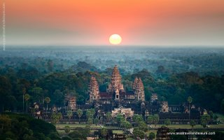 Sunrise over the magnificent Angkor Wat