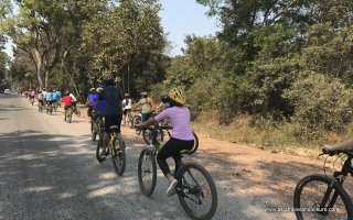 Biking in Siem Reap countryside