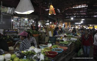 The Old market in Siem Reap