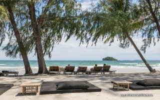 Otres beach 2 in Sihanoukville