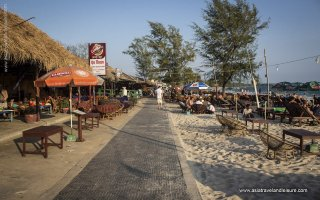 Serendipity beach in Sihanoukville
