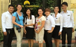 Meet up with Travel Cambodia Team