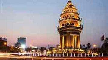 Phnom Penh City and Shopping